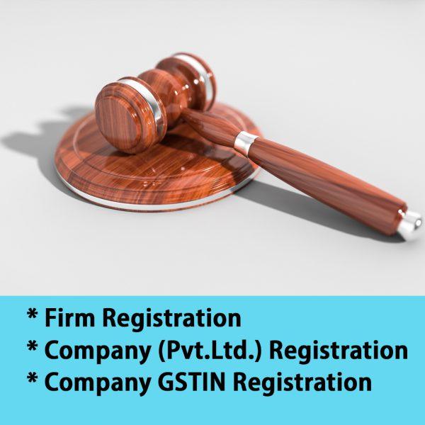 Company registration Pvt Ltd Registration Online Firm registration online gstin registration online